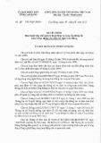 Quyết định số: 31/2015/QĐ-UBND tỉnh Cao Bằng