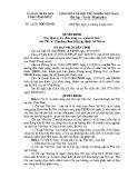 Quyết định số: 22/2015/QĐ-UBND tỉnh Vĩnh Phúc