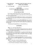 Quyết định số: 19/2015/QĐ-UBND tỉnh Gia Lai