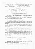 Quyết định số: 28/2015/QĐ-UBND tỉnh Cao Bằng