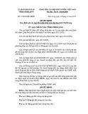 Quyết định số: 11/2013/QĐ-UBND tỉnh Vĩnh Long