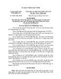 Quyết định số: 59/2013/QĐ-UBND