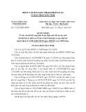 Quyết định số: 11/2013/QĐ-UBND tỉnh Bình Định