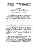 Quyết định số: 27/2015/QĐ-UBND tỉnh Vĩnh Phúc