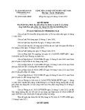 Quyết định số: 62/2013/QĐ-UBND