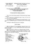 Quyết định số: 54/2015/QĐ-UBND tỉnh Lâm Đồng