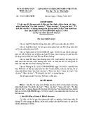 Quyết định số: 15/2015/QĐ-UBND tỉnh Gia Lai