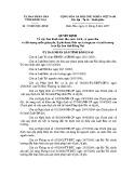 Quyết định số: 55/2007/QĐ-UBND tỉnh Đồng Nai
