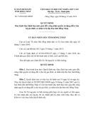 Quyết định số: 31/2014/QĐ-UBND