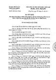 Quyết định số: 13/2015/QĐ-UBND tỉnh Bình Phước