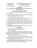 Quyết định số: 42/2014/QĐ-UBND tỉnh trà Vinh