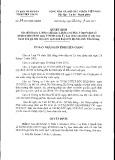 Quyết định số: 34/2015/QĐ-UBND tỉnh Tiền Giang
