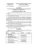 Quyết định số: 37/2014/QĐ-UBND  tỉnh Trà Vinh