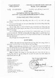 Quyết định số: 24/2015/QĐ-UBND tỉnh Cao Bằng