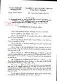 Quyết định số: 20/2015/QĐ-UBND tỉnh Đắk Nông