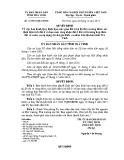Quyết định số: 41/2014/QĐ-UBND tỉnh Trà Vinh