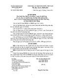 Quyêt định số: 26/2015/QĐ-UBND tỉnh Vĩnh Phúc
