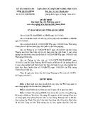 Quyết định số: 25/2015/QĐ-UBND tỉnh Quảng Bình