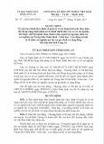 Quyết định số: 46/2015/QĐ-UBND tỉnh Long An