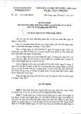 Quyết định số: 23/2015/QĐ-UBND tỉnh Đắk Nông