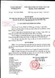 Quyết định số: 19/2015/QĐ-UBND tỉnh Đắk Nông
