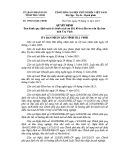 Quyết định số: 39/2014/QĐ-UBND tỉnh Trà Vinh
