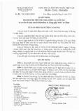 Quyết định số: 33/2015/QĐ-UBND tỉnh Cao Bằng