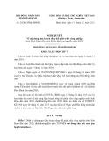 Nghị quyết số: 24/2013/NQ-HĐND tỉnh Bình Định