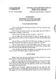 Quyết định số: 09/2015/QĐ-UBND tỉnh Bình Phước