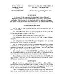 Quyết định số: 34/2015/QĐ-UBND tỉnh Bình Dương