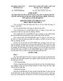Quyết định số: 19/2015/NQ-HĐND