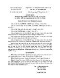 Quyết định số: 327/2015/QĐ-UBND