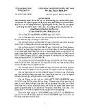 Quyết định số: 42/2015 /QĐ- UBND