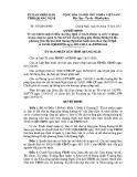 Quyết định số: 335/QĐ-UBND