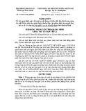 Nghị quyết số: 212/2015/NQ-HĐND