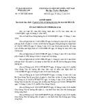 Quyết định số: 27/2015/QĐ-UBND tỉnh Đắk Lắk