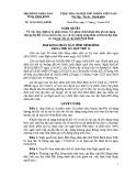 Quyết định số: 26/2014/NQ-HĐND