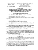 Quyết định số: 17/2015/QĐ-UBND