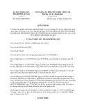 Quyết định số: 45/2013/QĐ-UBND