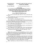 Quyết định số: 33/2015/QĐ-UBND tỉnh Kon Tum