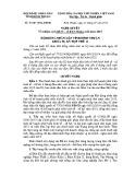 Nghị quyết số: 81/2015/NQ-HĐND