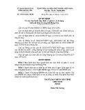 Quyết định số: 19/2014/QĐ-UBND