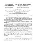 Quyết định số: 383/2013/QĐ-UBND
