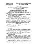 Nghị quyết số: 106/2015/NQ-HĐND