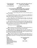 Quyết định số: 34/2014/QĐ-UBND tỉnh Ninh Bình