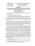 Quyết định số: 80/2014/QĐ-UBND