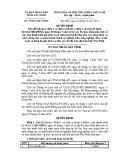 Quyết định số: 79/2014/QĐ-UBND