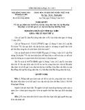 Nghị quyết số: 01/2015/NQ-HĐND