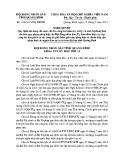 Nghị quyết số: 106/2015/NQ-HĐND tỉnh Quảng Bình