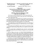 Nghị quyết số: 206/2015/NQ-HĐND